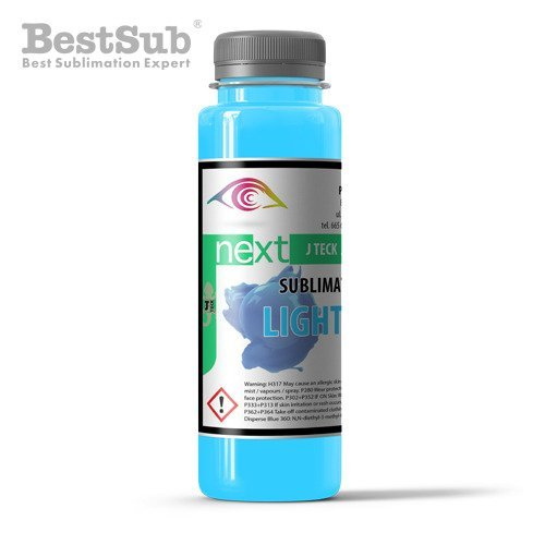 J-Teck J-Next sublimační inkoust LIGHT CYAN 100 ml (Sublimace Termotransfer)