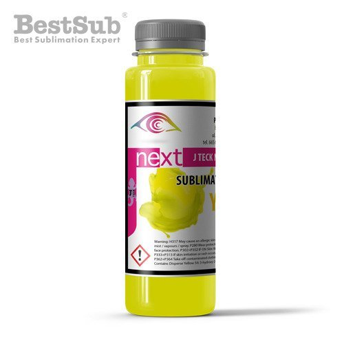 J-Teck J-Next sublimační inkoust YELLOW 100 ml (Sublimace Termotransfer)